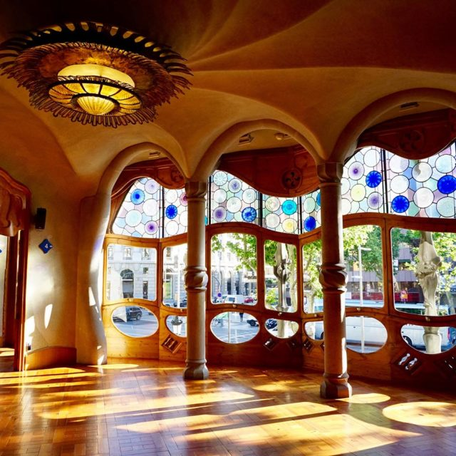 Sonorización de edificios singulares, Casa Batlló
