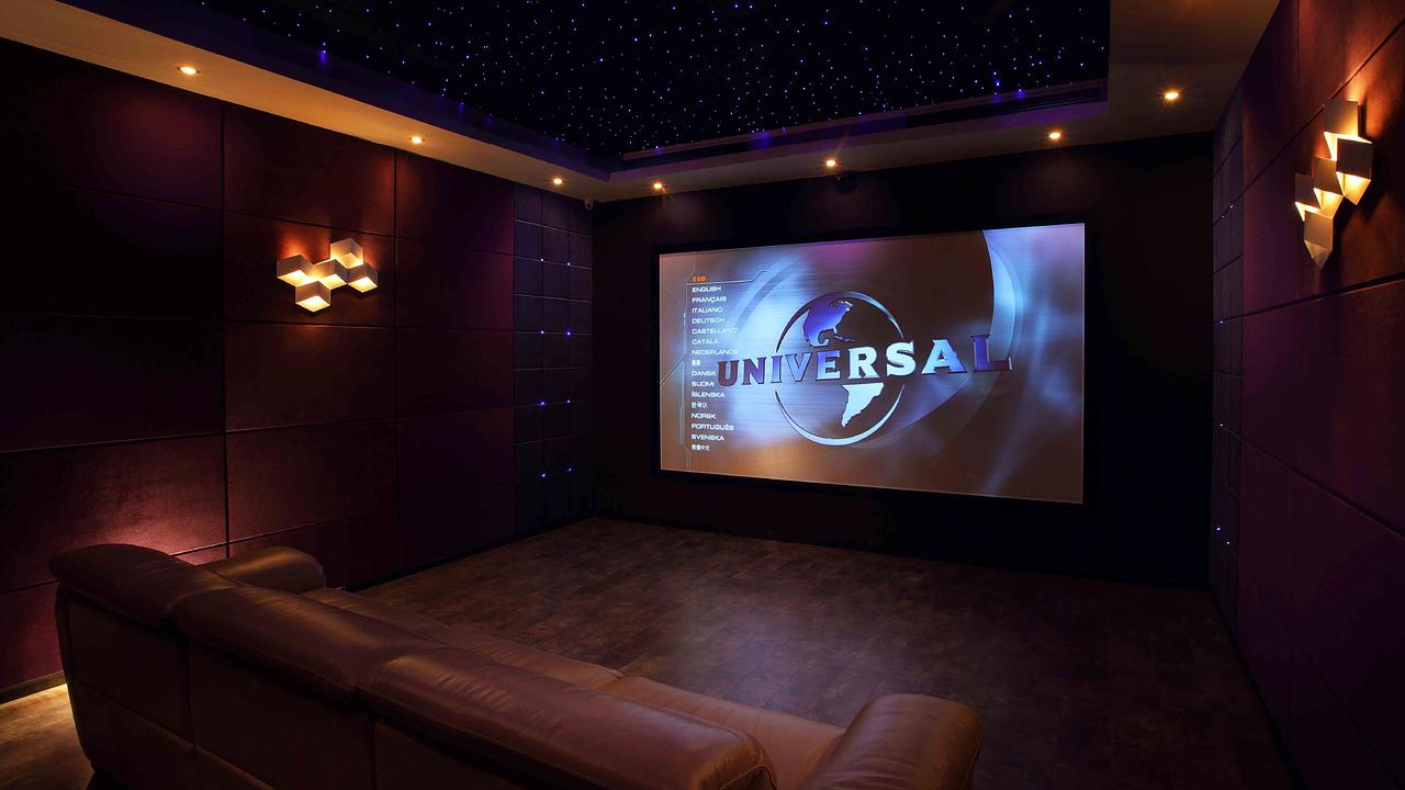 Salas de cine en casa home digital systems barcelona - Sala de cine en casa ...