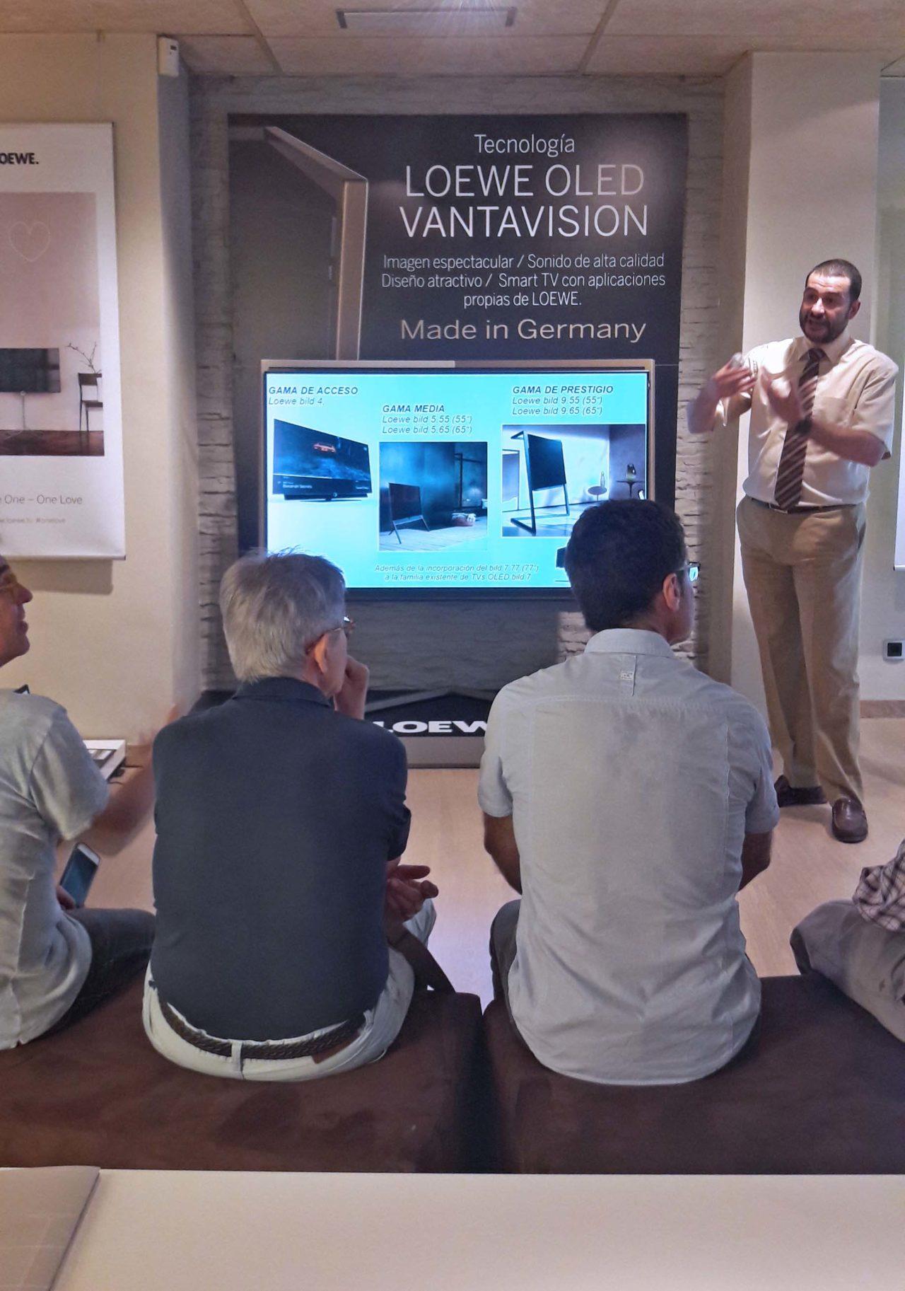 Televisiones Loewe, presentación de la nueva Vanta Visión